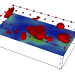 Modello tridimensionale della fondazione