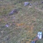 Misure elettriche su versante montano
