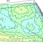 Mappa della conducibilità del terreno e riporto di argilla